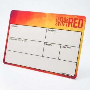 Taylor Swift RED music_caselabels