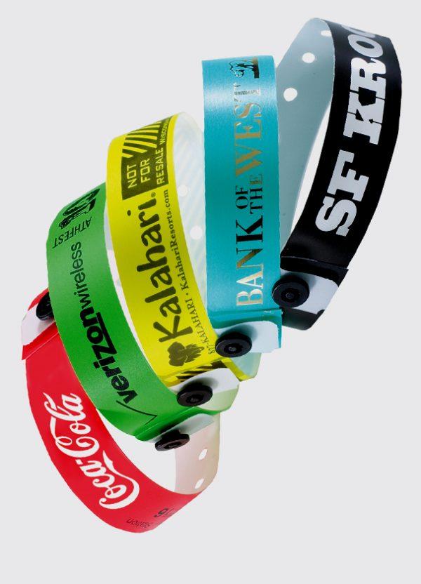 Custom Plastic Wristbands