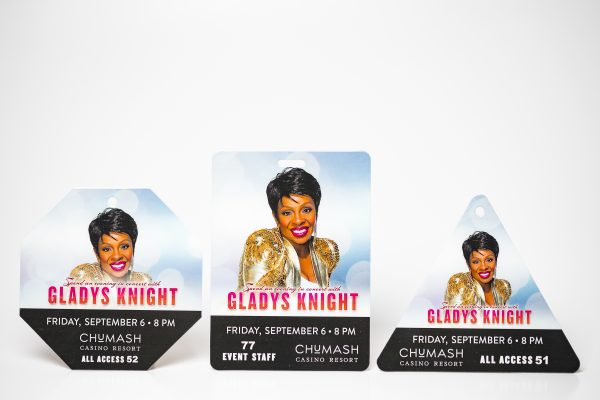 Gladys Knight Multi Shaped Credentials