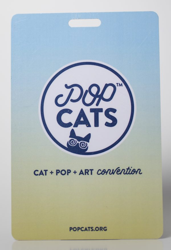 Pop Cats Convention Event Credential