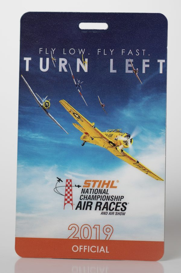 STIHL Air Races Custom Sports Credential