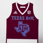 Hot Stamp Foiled Texas A&M Sports Credential