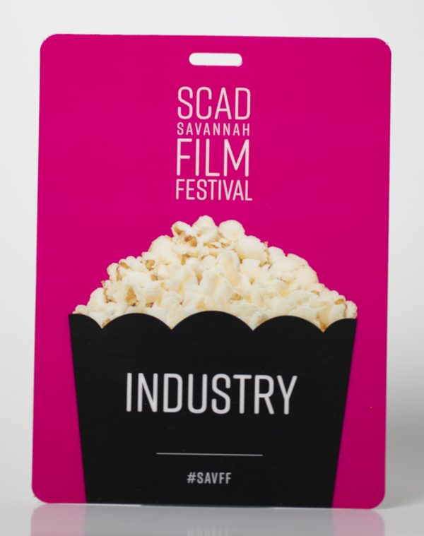 SCAD Film Festival Event Credential
