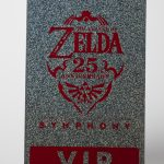 Hot Stamp Foiled Legend of Zelda Event Credential