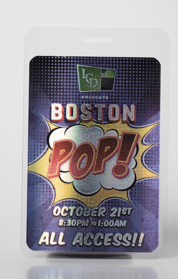 Boston POP! Pouched Star Laminate