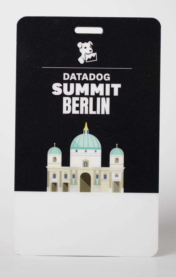 Datadog Conference Badge