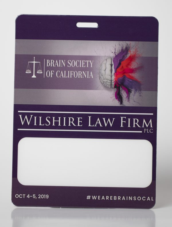 Brain Society of CA Conference Badge