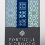 Hot Stamp Foiled Event Credential Portugal Morocco