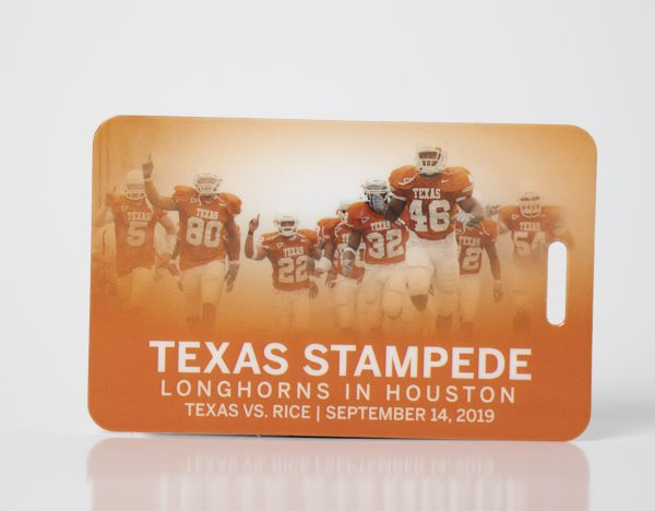 Texas Stampede Travel Luggage Tags