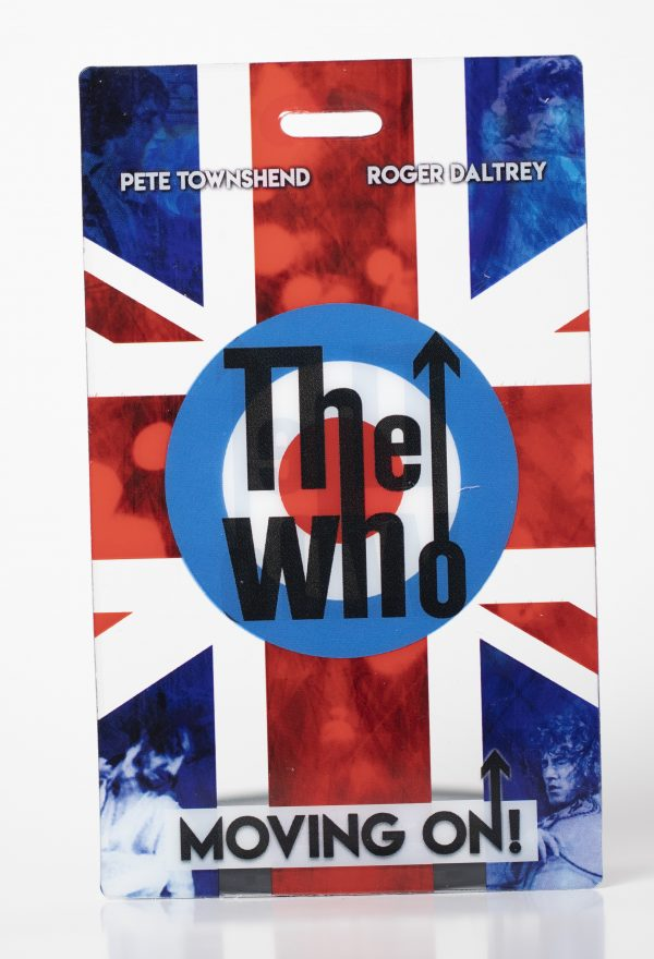 The Who Clear Backstage Laminates