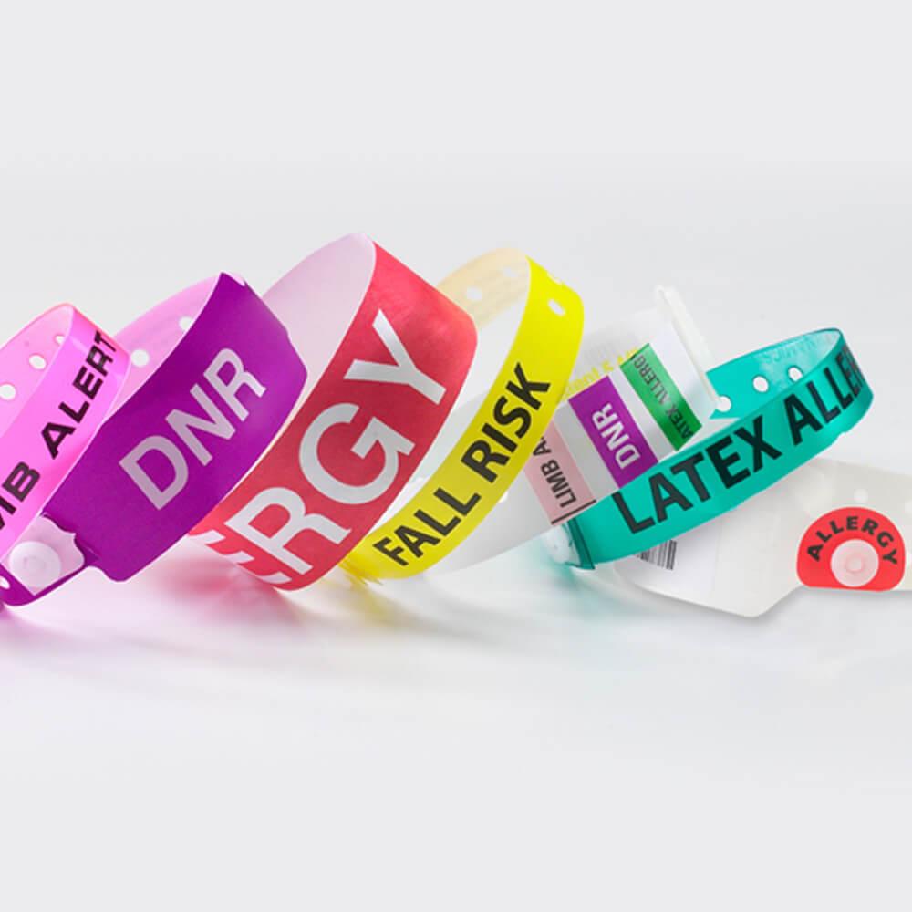 custom medical wristbands